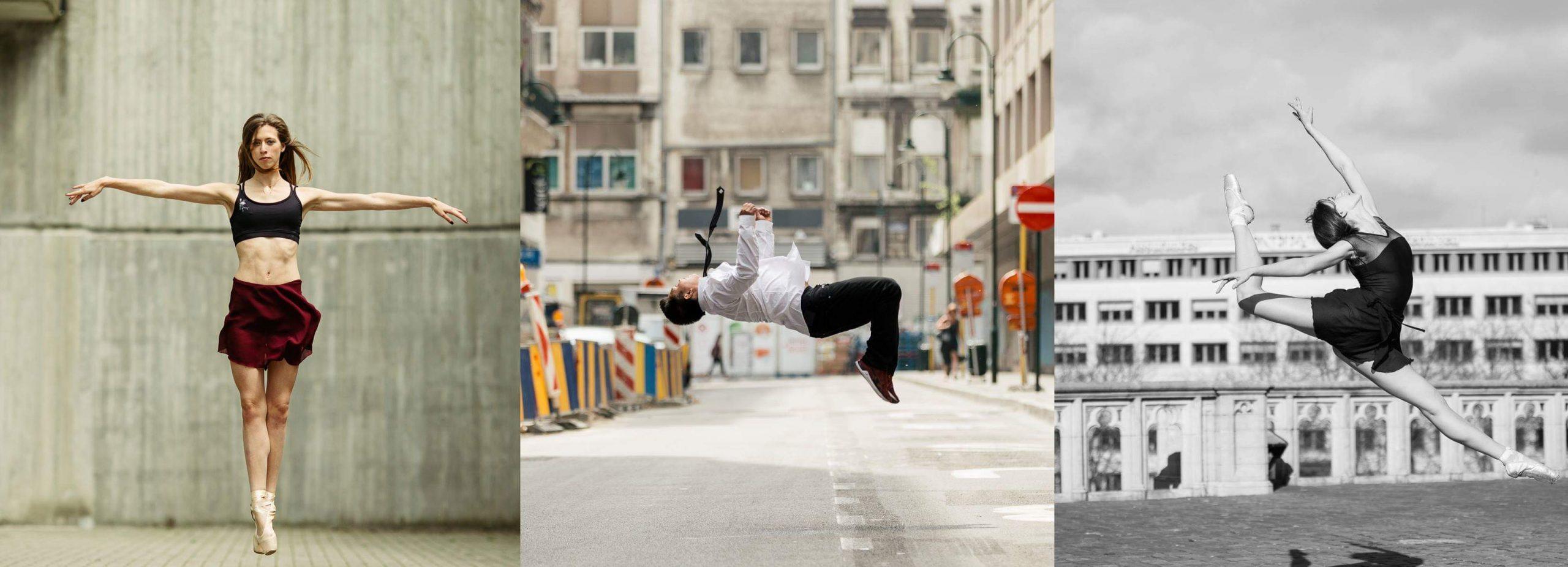 Fotografii balerini
